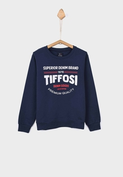 Tiffosi sweater Thomas donker blauw   116
